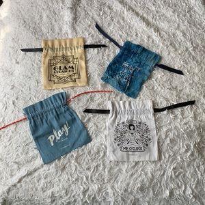 NWOT BUNDLE of 4 SEPHORA PLAY makeup bags